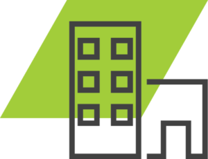 go green valet parking hospital icon